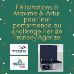Groupe Alternance Nancy Lorraine Challenge Fer de France Agorize Palmarès Etudiant