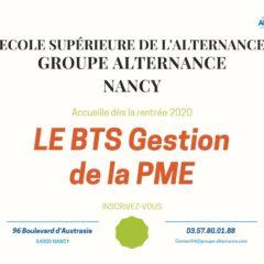 Groupe Alternance Nancy Lorraine formation BTS Gestion de la PME GPME