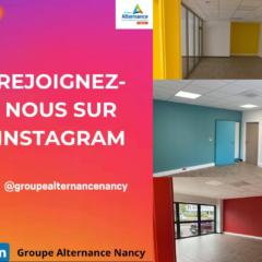 Groupe Alternance Nancy Lorraine actualités 2020 rénovation locaux Instagram